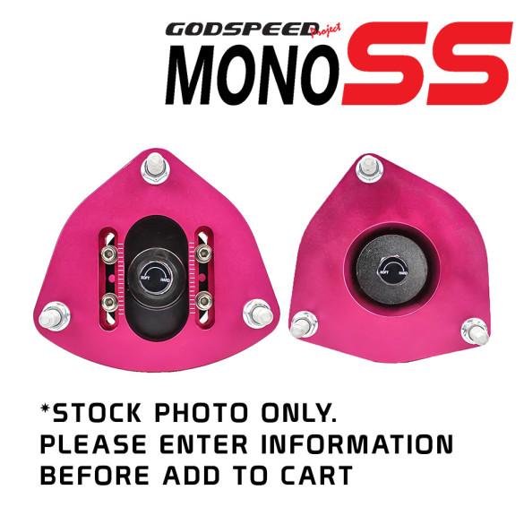 MonoSS Coilover Top Mount Plates - Pair