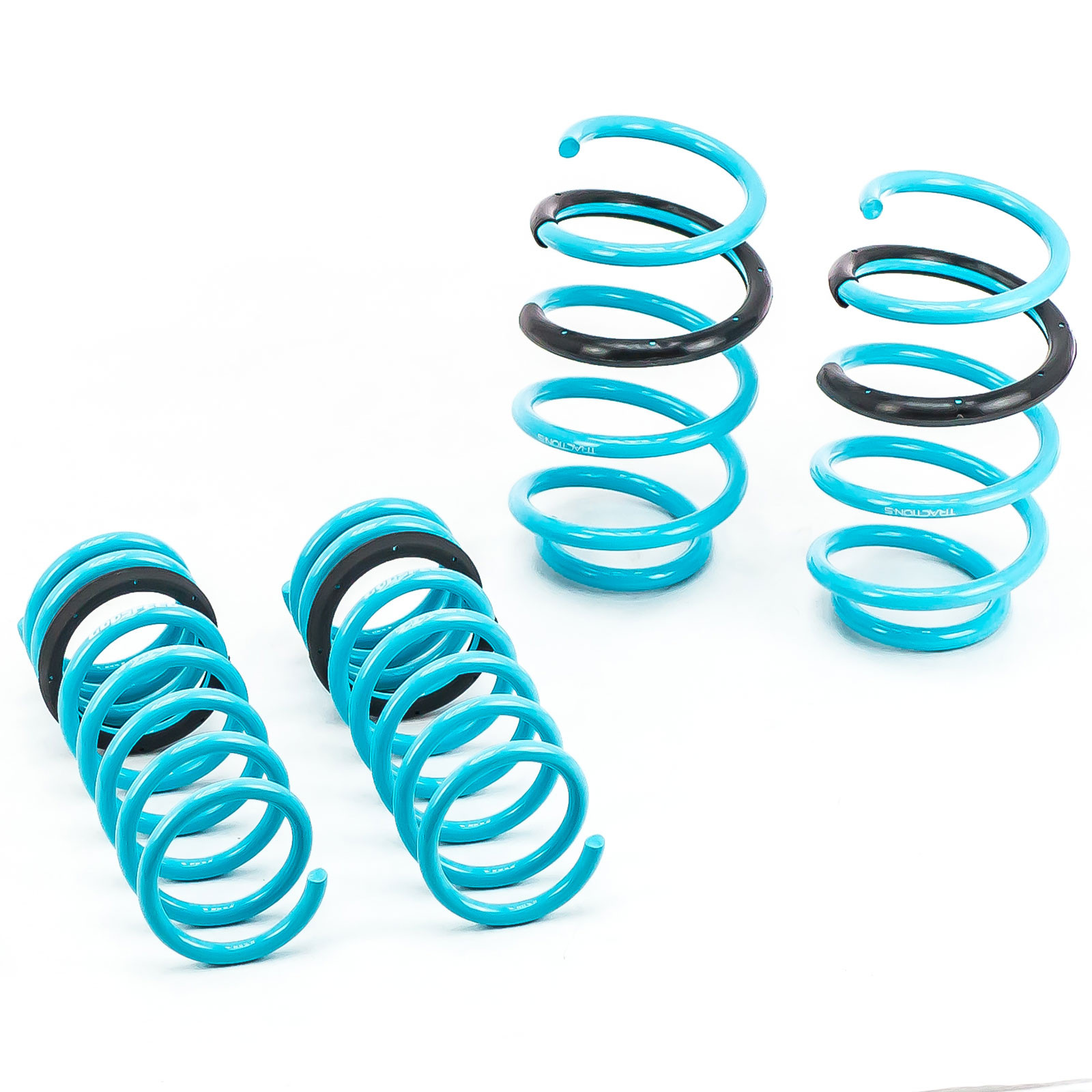 Improve Overall Handling And Steering Response Godspeed LS-TS-FD-0005 Traction-S Performance Lowering Springs