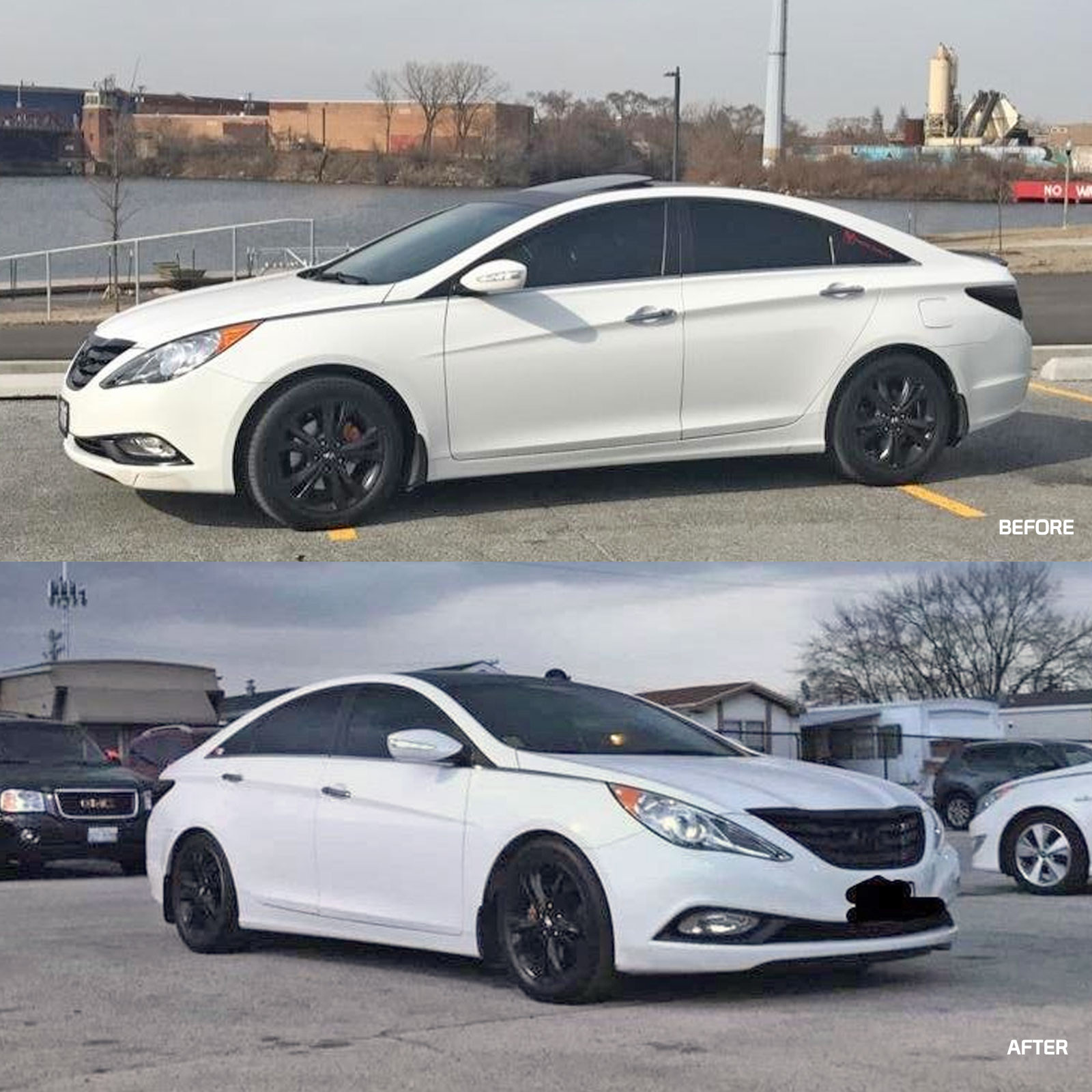 More Views Traction S Performance Lowering Springs For Hyundai Sonata