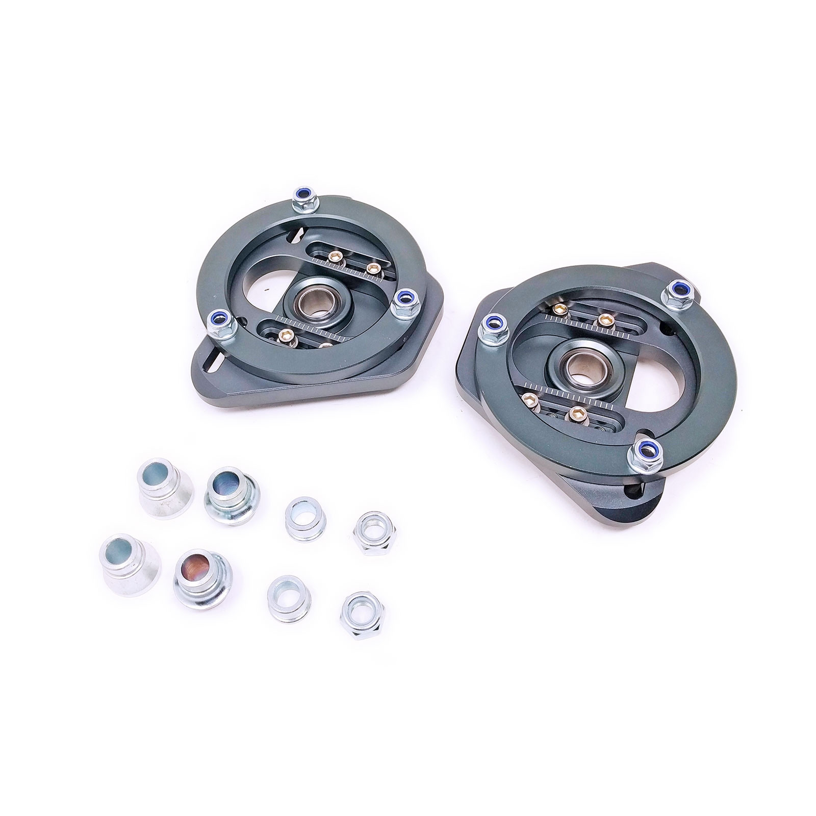 BMW 3-Series/M3 (E46) 1999-06 Adjustable Front Camber & Caster Plate For  Coilovers