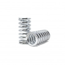 Custom Coilover Springs 10KG / 180MM / 62MM ID (set of 2) - Chrome Finish
