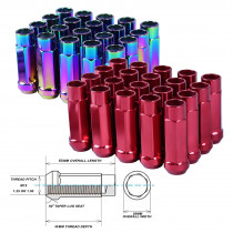 GODSPEED TYPE-X 60MM OPEN END ALUMINUM LUG NUTS 20 PCS. SET