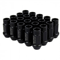 Godspeed Type 3 50mm Lug Nuts 20 pcs. Set M12x1.25 (Black)