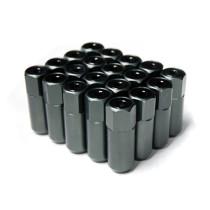 Godspeed Type 5 55mm Lug Nuts 20 pcs. Set M12 X 1.5 Gun Metal