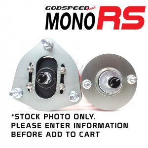MonoRS Coilover Top Mount Plates - Pair