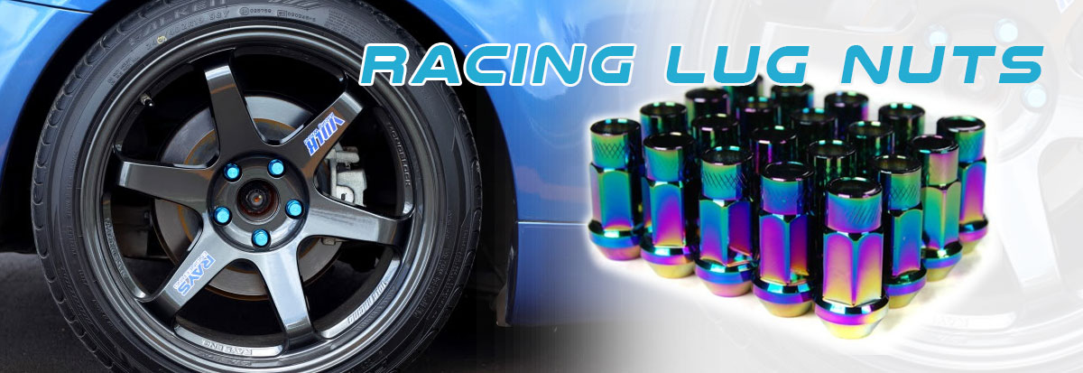 Lug Nuts And Tow Hooks - Click Here For Details